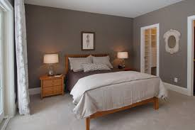 simple master bedroom with pine furniture pine master