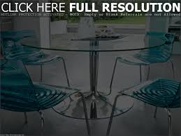Glass Round Dining Table For 6 Chair Round Glass Dining Room Table And 4 Chairs Starrkingschool