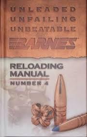 Barnes Reload Data Bob Shell U0027s Blog Barnes Reloading Manual Number 4