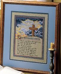 Old Rugged Cross The Old Rugged Cross Cross Stitch Epattern Leisurearts Com