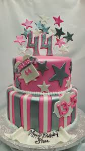 mymonicakes pink u0026 silver dallas cowboys cake
