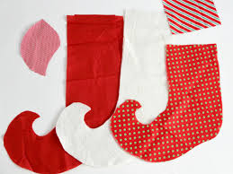 diy elf christmas stockings how tos diy