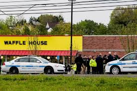 house images man sought in waffle house shooting had been arrested near white