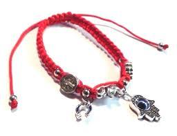 bracelet lucky images St benedict lucky charm evil eye elephant horse shoe bracelet san jpg