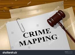 Crime Mapping Com 3d Illustration Crime Mapping Title On Stockillustration 509116549