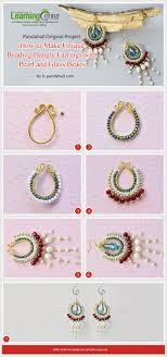 make dangle earrings diy jewelry pandahall original project how to make unique