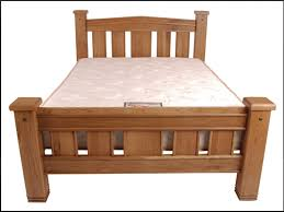 Oak Bed Frame Michigan Solid Oak Bed Frame