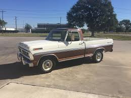 1985 Ford F100 1972 Ford F100 Swb Ranger Xlt 2 Owner 60k Orig Miles Ford