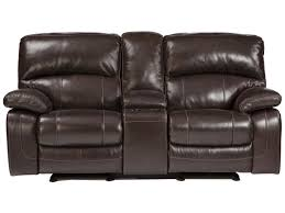 furniture glider loveseat loveseat with console dual recliner