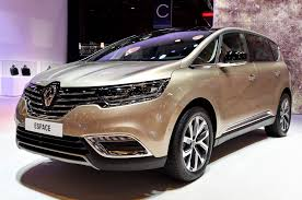 renault motor renault shows off production ready espace crossover in paris