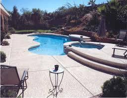 Concrete Patio Vs Pavers by Concrete Pool Deck Texture Home U0026 Gardens Geek