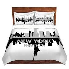 New York City Duvet Cover Duvet Covers Ready To Ship Dianoche Designs