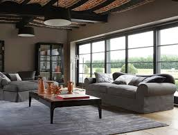 furniture awesome roche bobois furniture with gray sofa and black