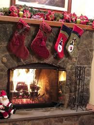 christmas fireplace u2014 stock photo jackai 5238003