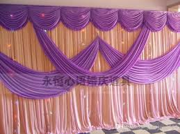 wedding backdrop online a set of wedding drape pipe system wedding curtain valance stand