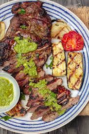 Smothered Lamb Chops Mediterranean Grilled Lamb Leg With Mint Pesto Recipe