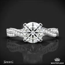 delicate engagement rings simon g mr1498 d delicate diamond engagement ring 3423