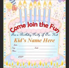 kid birthday invitation matter tags boys birthday invitation