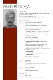 Good Programmer Resume Programmer Resume Samples Visualcv Resume Samples Database