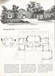 Mid Century House Plans Vintage House Plans Mid Century Homes 1960s Houses Homes