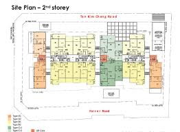 The Interlace Floor Plan The Siena Property Gs Singapore New Launch Property Gs