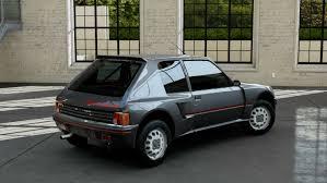 peugeot awd cars forza motorsport 5 1984 peugeot 205 turbo 16 youtube