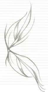 night fairy wings sketch by tygressofbeauty on deviantart
