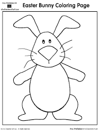 easter coloring pages bunny teacher stuff