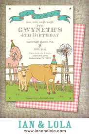 42 best farm barnyard or animal themed party invitations images on