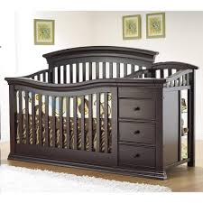 Convertible Changing Table Convertible Crib With Changing Table Attached Thebangups Table