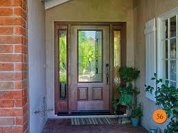 Fiberglass Exterior Doors With Sidelights 36 X80 Therma Tru Fcm912 Fiberglass Exterior Door With Sidelights