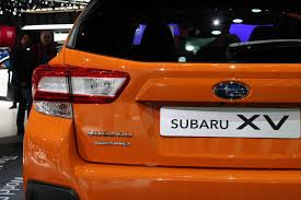 crosstrek subaru orange 2018 subaru crosstrek debuts with better off road capability