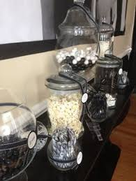 Black And White Candy Buffet Ideas by Green Black And White Candy Buffet Werdding Diy Pinterest