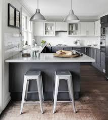 cuisine americaine en u cuisine en u avec bar kitchens ilot ikea best bodbyn grey ideas on