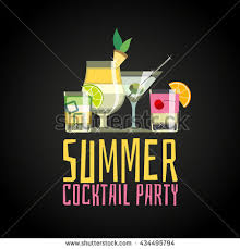 Cherry Cocktail Party Effect - cocktail party invitation stock vector 83129746 shutterstock