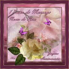 41 ans de mariage 17 ans de mariage noces de roses joyeux anniversaire