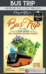 bus trip flyer template 21 travel flyers psd vector eps jpg