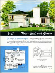 small retro house plans 1949 ranch style homes from national plan service and