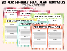 weekly family meal planner template meal planning with love my life abundant meal planning with love