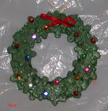 wreath made from puzzle pieces for when they start to out grow