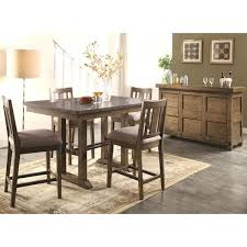 Rustic Industrial Dining Chairs Architectural Industrial Rustic Design Counter Height Dining Set
