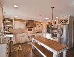 farmhouse floors traditional kitchen with hardwood floors by heidi morrissey