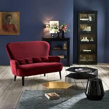 bout de canapé la redoute bout de canapé chevet céramique amibi noir la redoute interieurs
