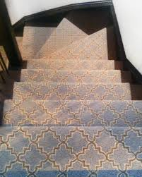 modern stair runners spaces modern with contemporary stair runner