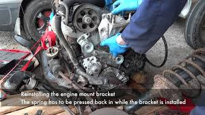 peugeot citroen xud timing belt replacement youtube