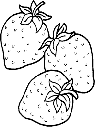 download free fruit coloring pages strawberry or print strawberry