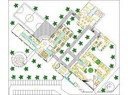 drug rehabilitation center floor plan rehabilitation center drug rehabilitation home 2d dwg plan for