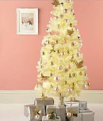 white christmas tree with gold decorations u2013 home design and