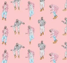 pattern illustration tumblr illustration drake music pattern artists on tumblr chagne papi