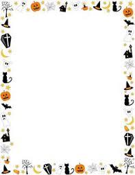 halloween clip art borders 102094